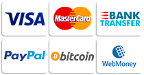 Payment methods of virtual server